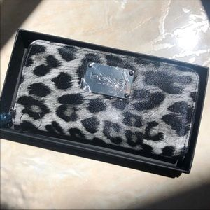 NEW WITH TAGS! BEBE animal print wallet